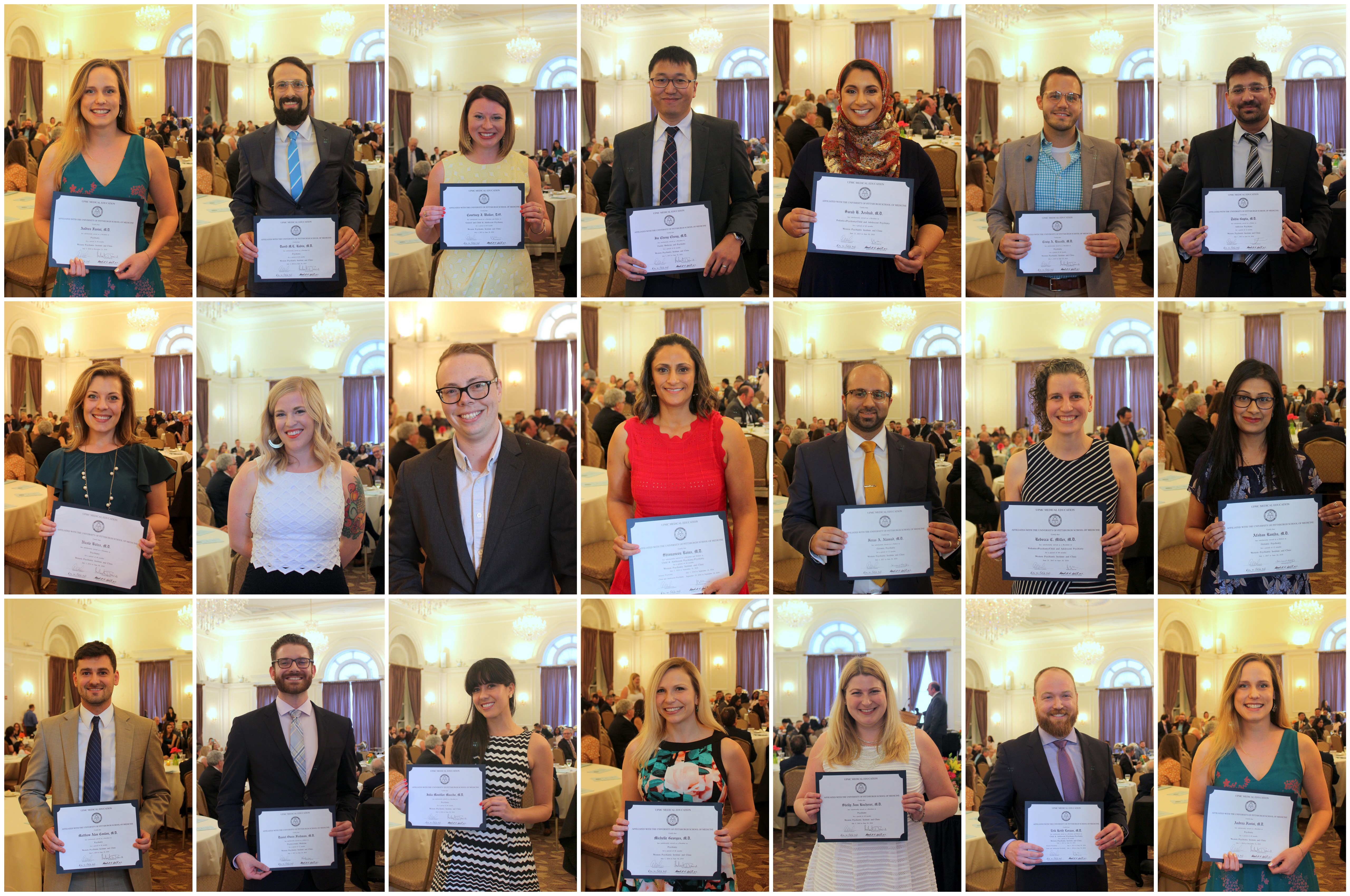 2018 Class of Resident and Fellow Graduates Celebrated at Ceremony