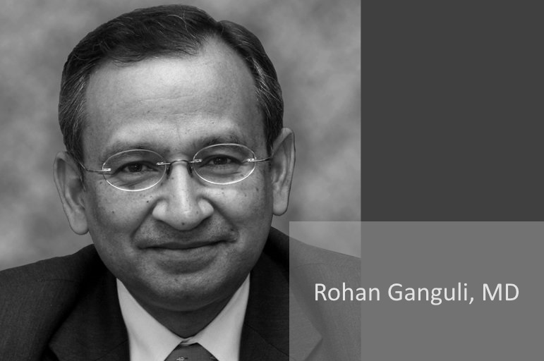 Dr  Rohan Ganguli Honored for 40 Years of Service at UPMC