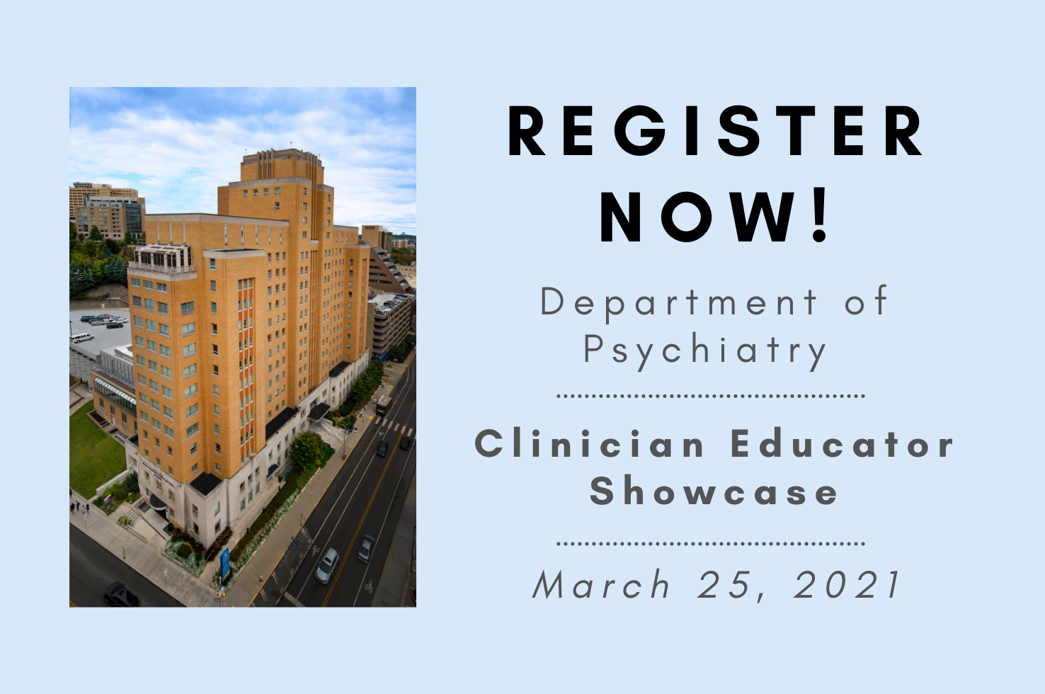 2021 Clinician Educator Showcase