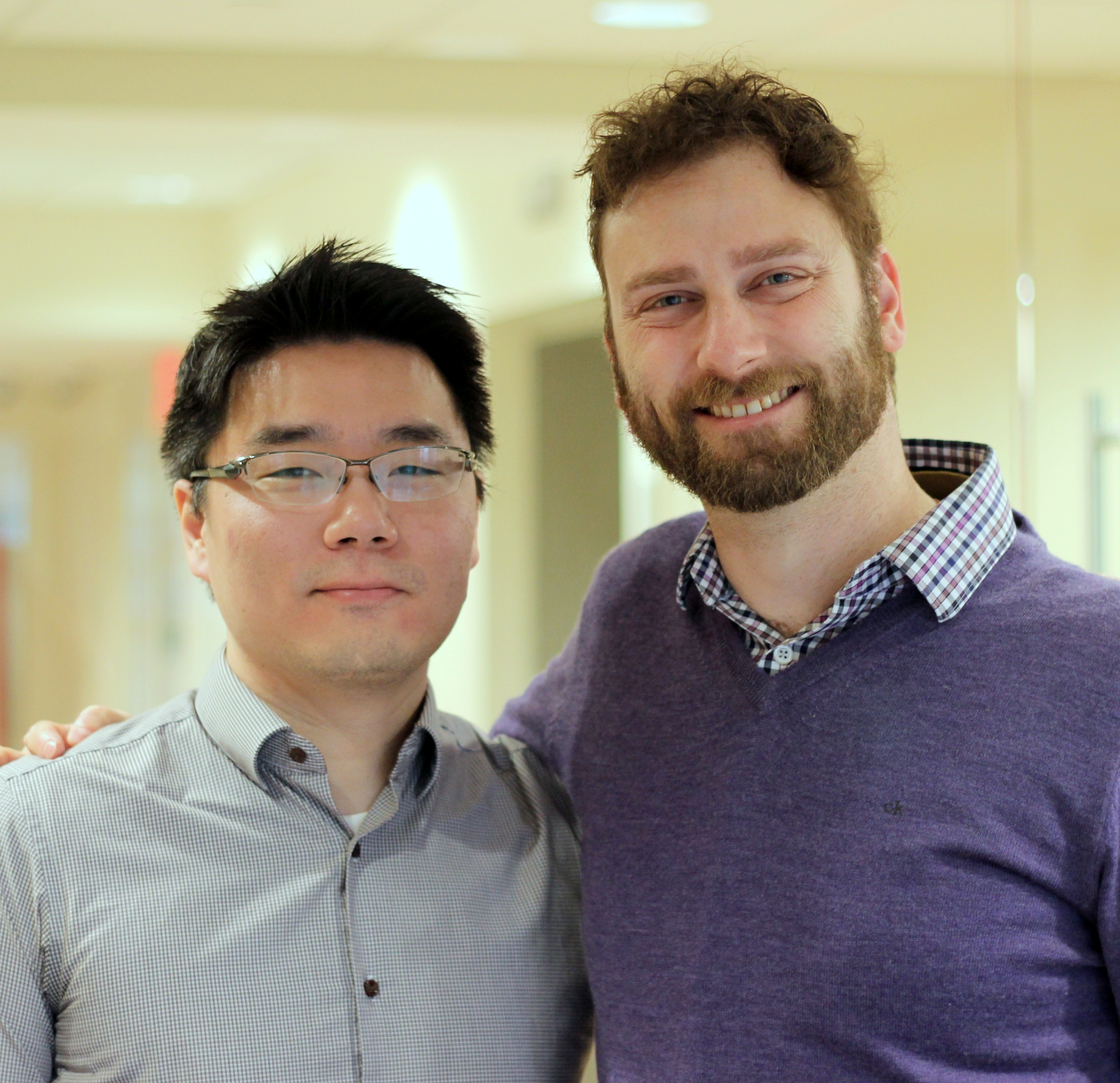 Drs. Wonjae Chung and Gil Hoftman both joined the Pitt Psychiatry residency training program after completing the MSTP.