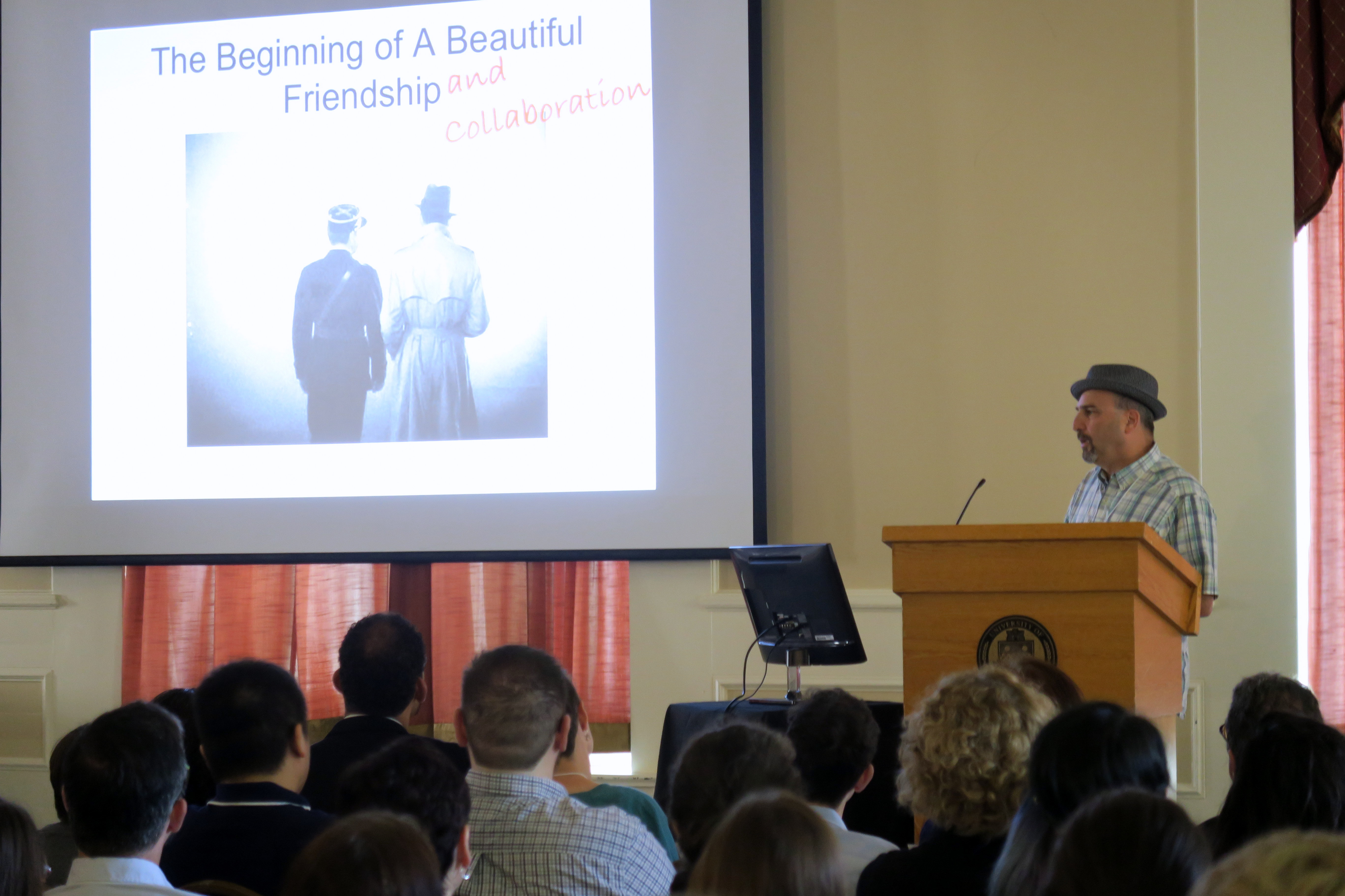 Dr. Robert Sweet Delivers the Keynote Address at Research Day