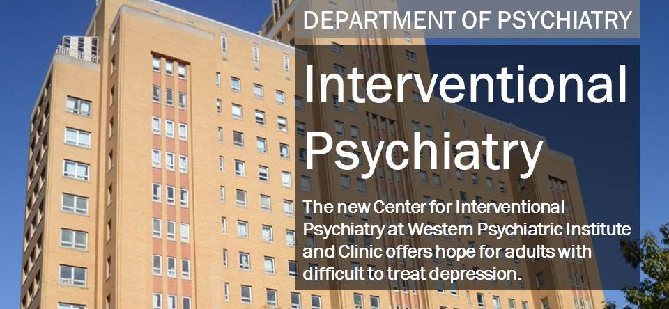 Center for Interventional Psychiatry | University of
