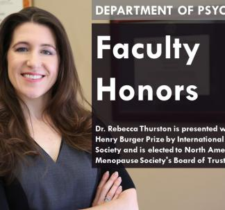 Dr. Rebecca Thurston's Research featured in Menopause and Forbes Magazine