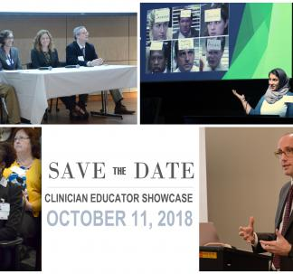 2018 Clinician Educator Showcase Save the Date
