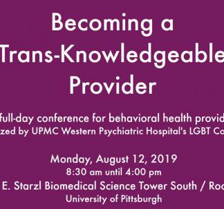 Becoming a Knowledgeable LGBTQ Provider
