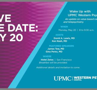 2019 APA Wake Up with Western Psychiatric Hospital Event