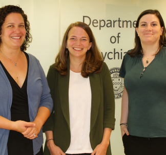 Department Welcomes Drs. Whelan, Mengwall-Weinstock and Conner
